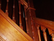Wood Stair case